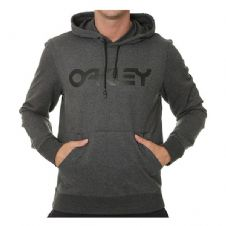 Oakley Casual 2018 Adult Lifestyle Hoodie (B1B PO Blackout Heather)